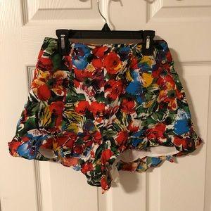 Lush Floral Shorts